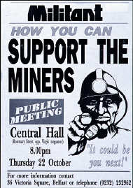 Miners support