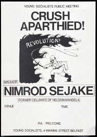 Anti-apartheid meetings