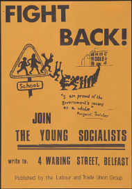 Young Socialists; Actual size=240 pixels wide